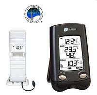 Уникальный бытовой термометр-гигрометр WS9024IT-MG-BLI черный La Crosse 914376.