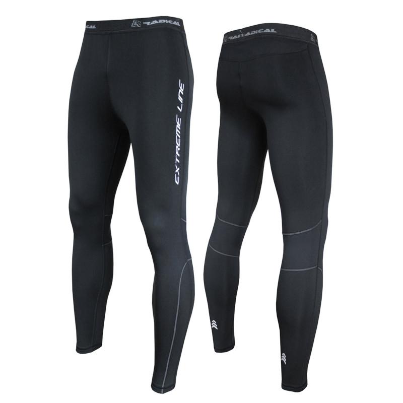Мужские спортивные утепленные лосины для бега Rough Radical Thunder (original), компрессионные штаны-тайтсы для бега