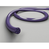 Викрол USP 5/0 metric 1, игла колющая 15 мм 1/2, длина 75 см