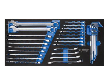 Ключи комбинированые комплект в ложементе 31 предмет
