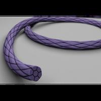 ПГА (полигликолид) USP 1 metric 4; игла колющая 55 мм 1/2, длина 90 см