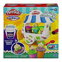 Набор Плей-до Фургончик мороженного Play-Doh Sweet Shoppe Ice Cream Sundae Cart