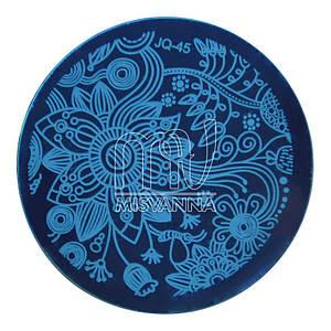 Пластина ( диск)  для стемпинга,JQ-45