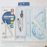 Набор чертежника BD-2501 6 предметов