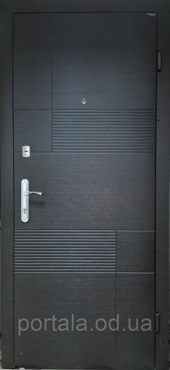 """Входная дверь для улицы """"Портала"""" (Комфорт Vinorit) ― модель Калифорния"""