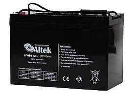 Аккумуляторная батарея Altek 6FM80GEL (80Ачас/12В)