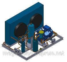 Холодильний агрегат на базі компресора Frascold D313y  2011 р.в.  , що був в експлуатації.