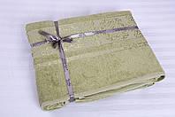 Простынь махровая Cestepe Bamboo - Premium 160*200 зеленый