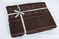 Простынь махровая Cestepe Bamboo - Premium 160*200 коричневый