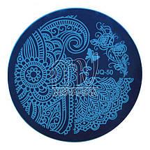 Пластина (диск) для стемпинга,JQ-50, фото 3