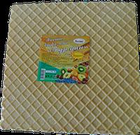 Лист вафельний прямокутний  85 г/уп (білі, кольорові)
