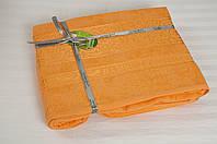 Простынь махровая Cestepe Bamboo - Premium 160*200 оранж