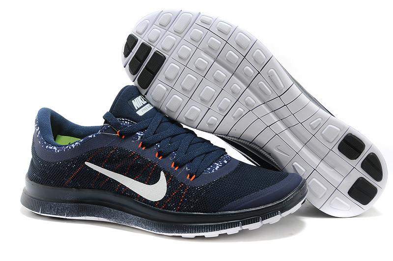 b452e10f Мужские кроссовки Nike Free 3.0 V6 D1234 темно-синие - купить по ...