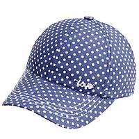 Летняя хлопковая кепка для девочек.