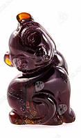 Статуэтка из янтаря «Котик»
