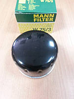 "Фильтр масла на DACIA Logan 1.4-1.6 2004 >, RENAULT 19,Clio I/III 1.5CDi, ""MANN"" W75/3 - производства Испании, фото 1"