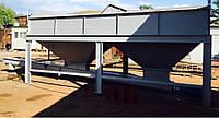 Бункер двух секционный  для хранения инертных материалов KARMEL
