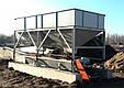 Бункер двух секционный  для хранения инертных материалов KARMEL, фото 2