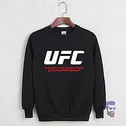 Свитшот UFC черный