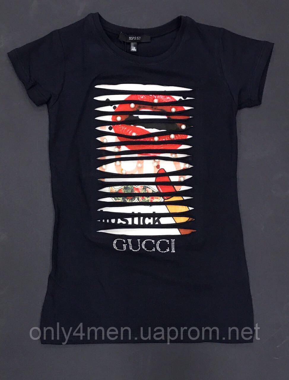 Яскраві футболки для дівчинки 5-14 років