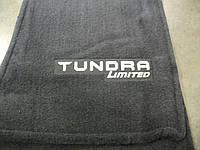 Toyota Tundra 2014-16 коврики в салон велюровые Limited Новые Оригинал Tundra с Double Cab (средняя кабина)