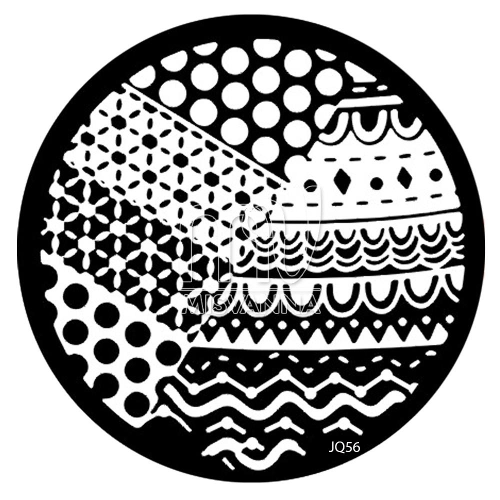 Пластина ( диск)  для стемпинга,JQ-56