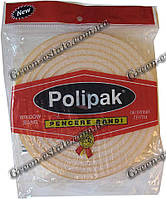 Уплотнитель поролоновый Polipak для окон 10м