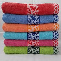 БАННОЕ махровое полотенце. Недорого. Махровые полотенца оптом 99-1, фото 1