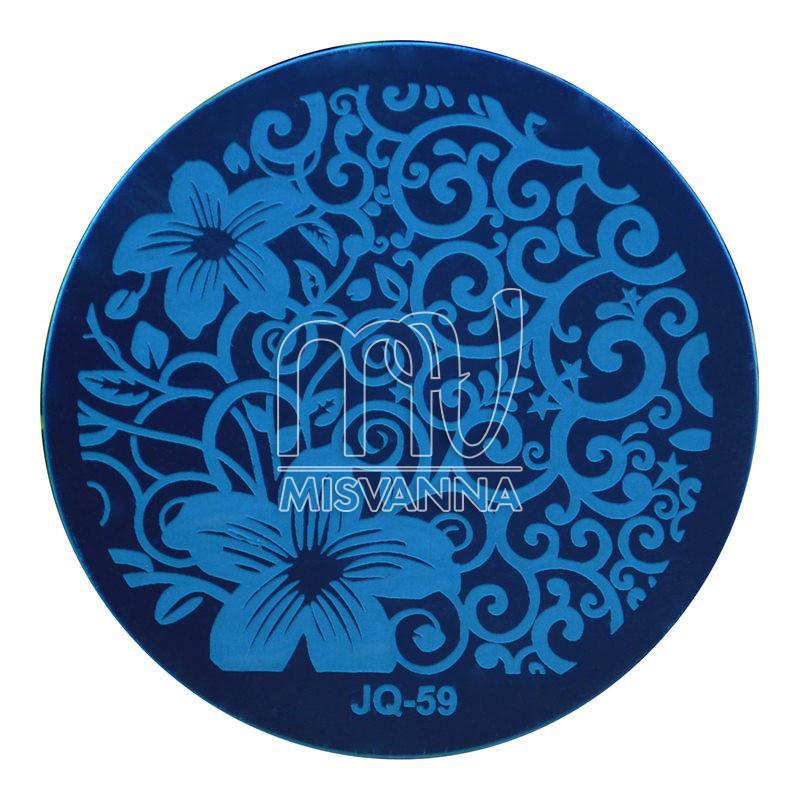 Пластина (диск) для стемпинга,JQ-59