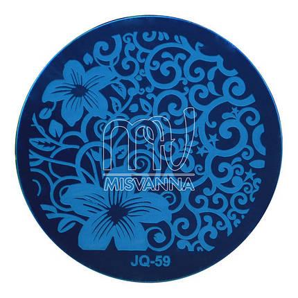 Пластина (диск) для стемпинга,JQ-59, фото 2
