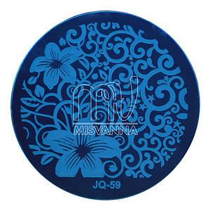 Пластина ( диск)  для стемпинга,JQ-59