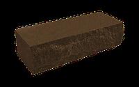 Цегла рвана скеля темно-коричнева