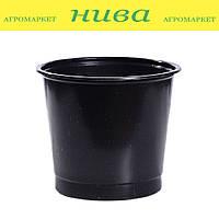 Стакан для рассады 0,18 л с отверстиями диаметр 6,5 см высота 8 см