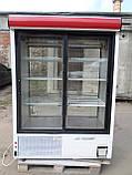 Шкаф-витрина холодильная COLD- SW 1400 бу, холодильный шкаф-купе  б/у, фото 2