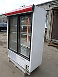 Шкаф-витрина холодильная COLD- SW 1400 бу, холодильный шкаф-купе  б/у, фото 3
