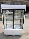 Шкаф-витрина холодильная COLD- SW 1400 бу, холодильный шкаф-купе  б/у, фото 4