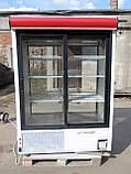 Шкаф-витрина холодильная COLD- SW 1400 бу, холодильный шкаф-купе  б/у, фото 6