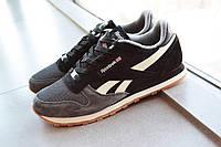 Мужские кроссовки Reebok Classic D1259 серо-черные