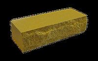 Цегла рвана скеля двостороння жовта