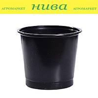 Стакан для рассады без отверстий 300 мл диаметр 80 мм высота 90 мм