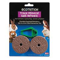 Минеральная добавка 8 in 1 Salt Wheels Trace Mineral для грызунов, солевые колесики, 2 шт