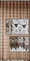 Тюль з вишивкою дорого( обробка сторін + 40 грн.)