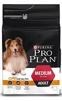 Корм для собак с курицей Pro Plan Medium Chiken 14 кг