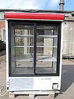 Холодильный шкаф-витрина COLD- SW 1400 бу, шкаф холодильный купе б/у