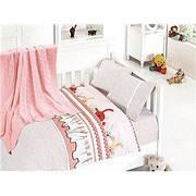 Детское постельное белье c вязаным покрывалом First Choice Nirvana Baby Ginny Pudra