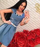 Женское джинсовое платье DB-3303