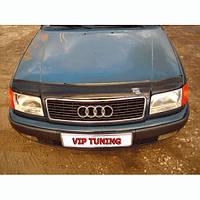VipTuning Audi 100 C4/4A '90-94 Дефлектор капота мухобойка