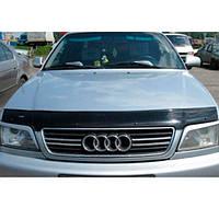 VipTuning Audi A6 C4/4A '94-97 Дефлектор капота мухобойка