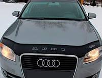 VipTuning Audi A4 B8 '07-15 Дефлектор капота мухобойка