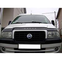 VipTuning Fiat Scudo I '04-07 Дефлектор капота мухобойка